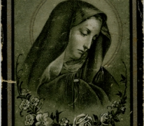 Bidprentje Marie Aelbrecht, Oosterzele, 1912