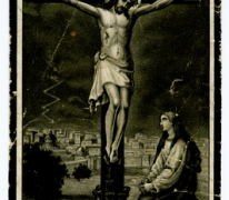 Bidprentje van Edmondus Beerens, La Louviére, 1918