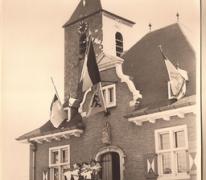 Gemeentehuis, Sint- Lievens- Houtem, 1957