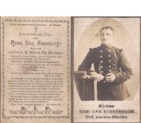 Bidprentje Remi Van Steenberge, Sint-Lievens-Houtem