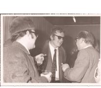 Ontmoeting met Hugo Claus, Sint-Lievens-Houtem, 1970