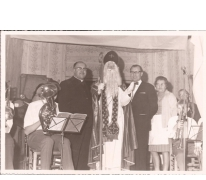 Sinterklaas op bezoek, Patronage, Sint- Lievens- Houtem, 1960-1970
