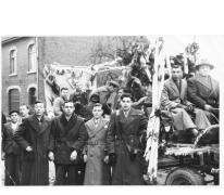 Inhuldiging pastoor Sabeau, Sint-Lievens-Houtem, 1951