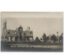 Achterkant kasteel Mr Roland, Melle, 1914-1918