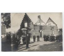Uitgebrand huis, Melle, 1914-1918