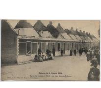 Straat der twaalf huizen, Melle, 1914