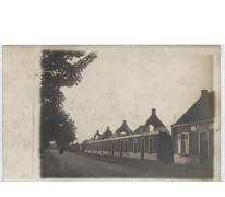 Uitgebrande huizen, Melle, 1914