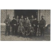 Duitse soldaten, Melle, 1914