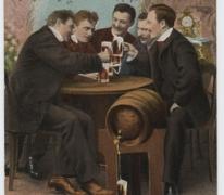 Verjaardagskaart, 1914-1918