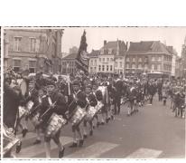 De jeugdfanfare in de straten, Sint-Lievens-Houtem