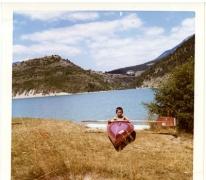 Vakantiefoto Schepen Bertrand Vrijens, St. André Les Alpes, 1970