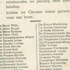 Herinnering aan vormsel van 25 april 1948, Oosterzele
