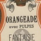 Flessenlabel limonade likeurstokerij Ponnet, Sint-Lievens-Houtem, 1930-1950