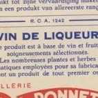 Etiketten dranken stokerij Ponnet, Sint-Lievens-Houtem, 1923-1974