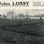 Advertentie van bloemisterij Lossy, Destelbergen, jaren 1920