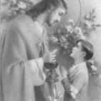 Herinneringsprentje  Pl. H. Communie van Willy Tensy, Balegem, 1944