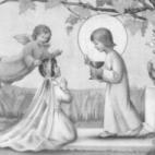 Herinnering a.d. Eerste  H. Communie v. Annie Mabilde, Balegem, 1949